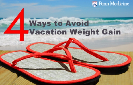 Keep Weight Off on Vacation